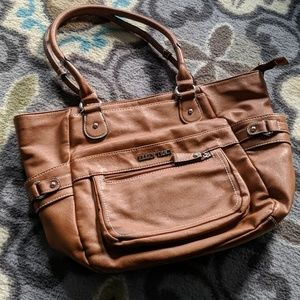 Ellen Tracy Leather Bag